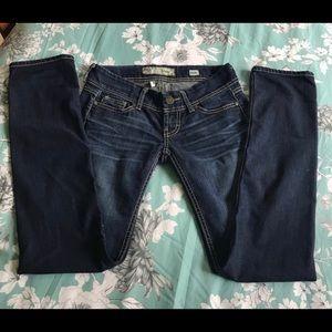BKE,  size 25, Straight leg jeans!